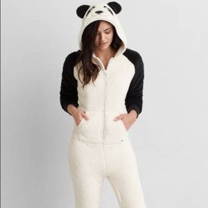 AE Panda Onesie. NWOT